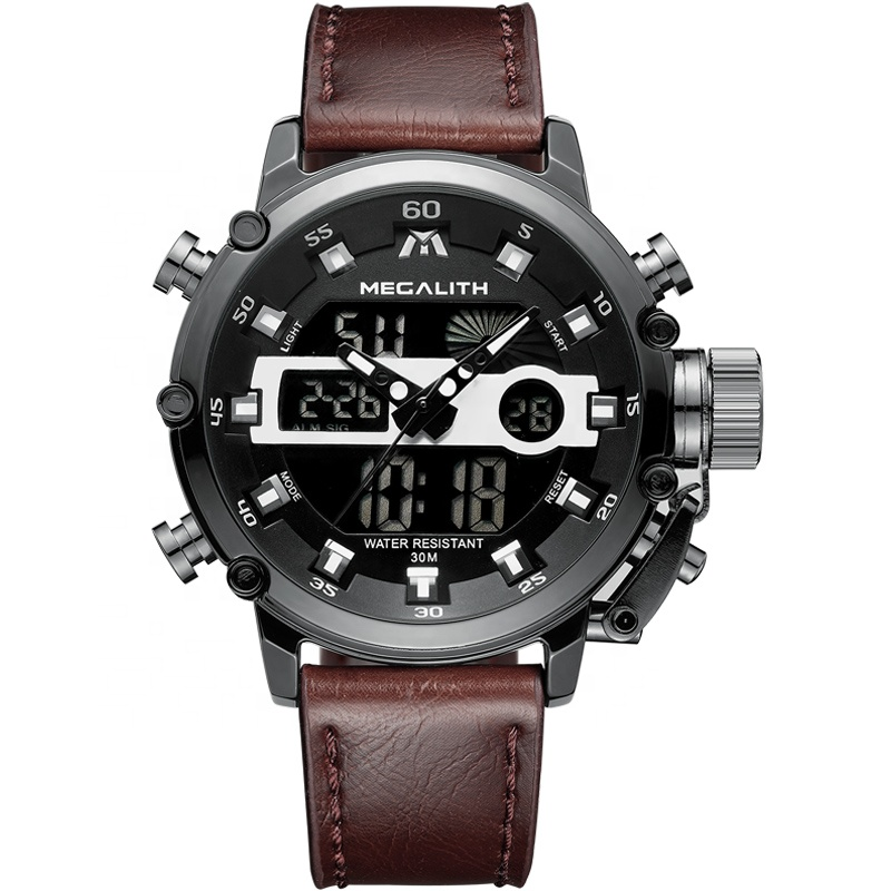 ساعت مچی عقربه ای مردانه مگالیت مدل 8051