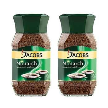 قوطی قهوه فوری جاکوبز مدل مونارک 50 گرمی مجموعه 2 عددی