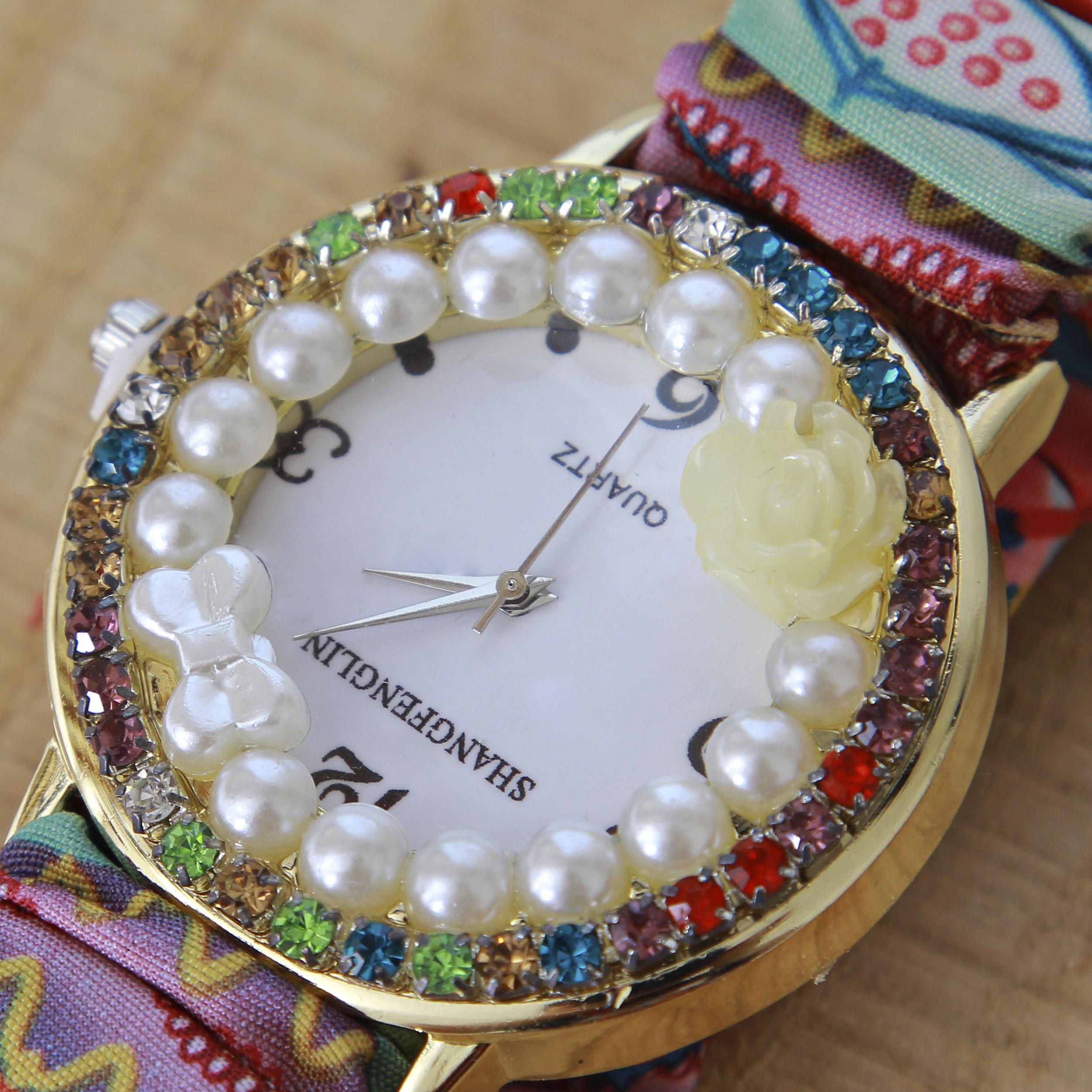 ساعت مچی عقربه ای زنانه کد WHW-222              ارزان