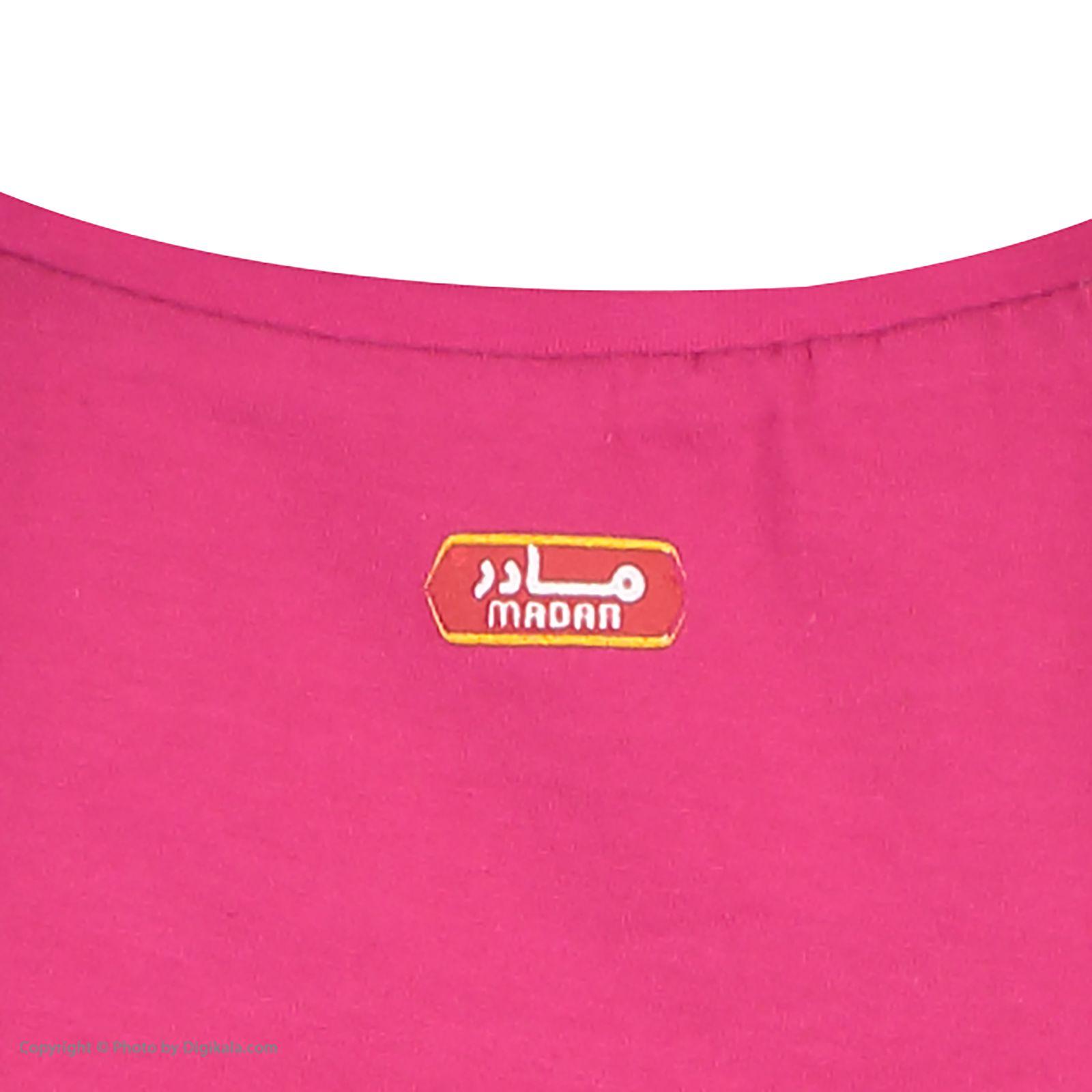ست تی شرت و شلوارک راحتی زنانه مادر مدل 2041100-66 -  - 12