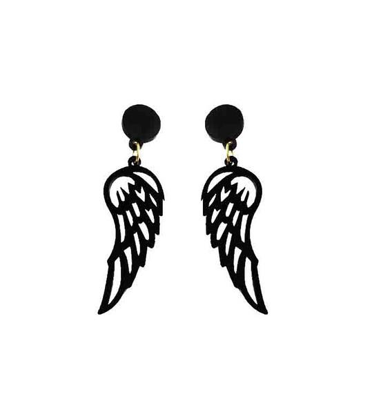 گوشواره دخترانه مدل بال فرشته