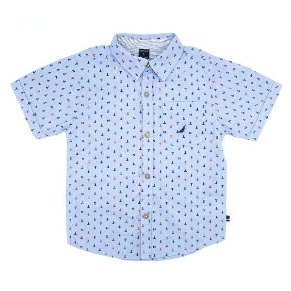 پیراهن پسرانه نوتیکا کد 1016