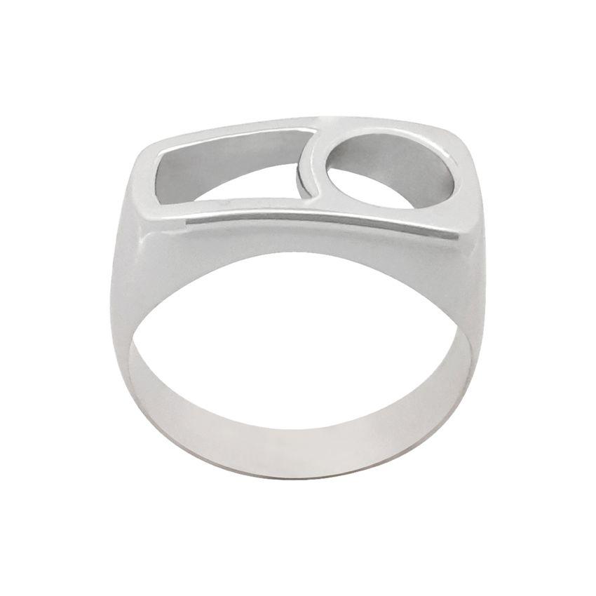 انگشتر نقره زنانه کد R207Psil -  - 4