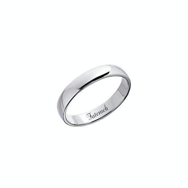 انگشتر ترمه ۱ مدل اسم فاطمه