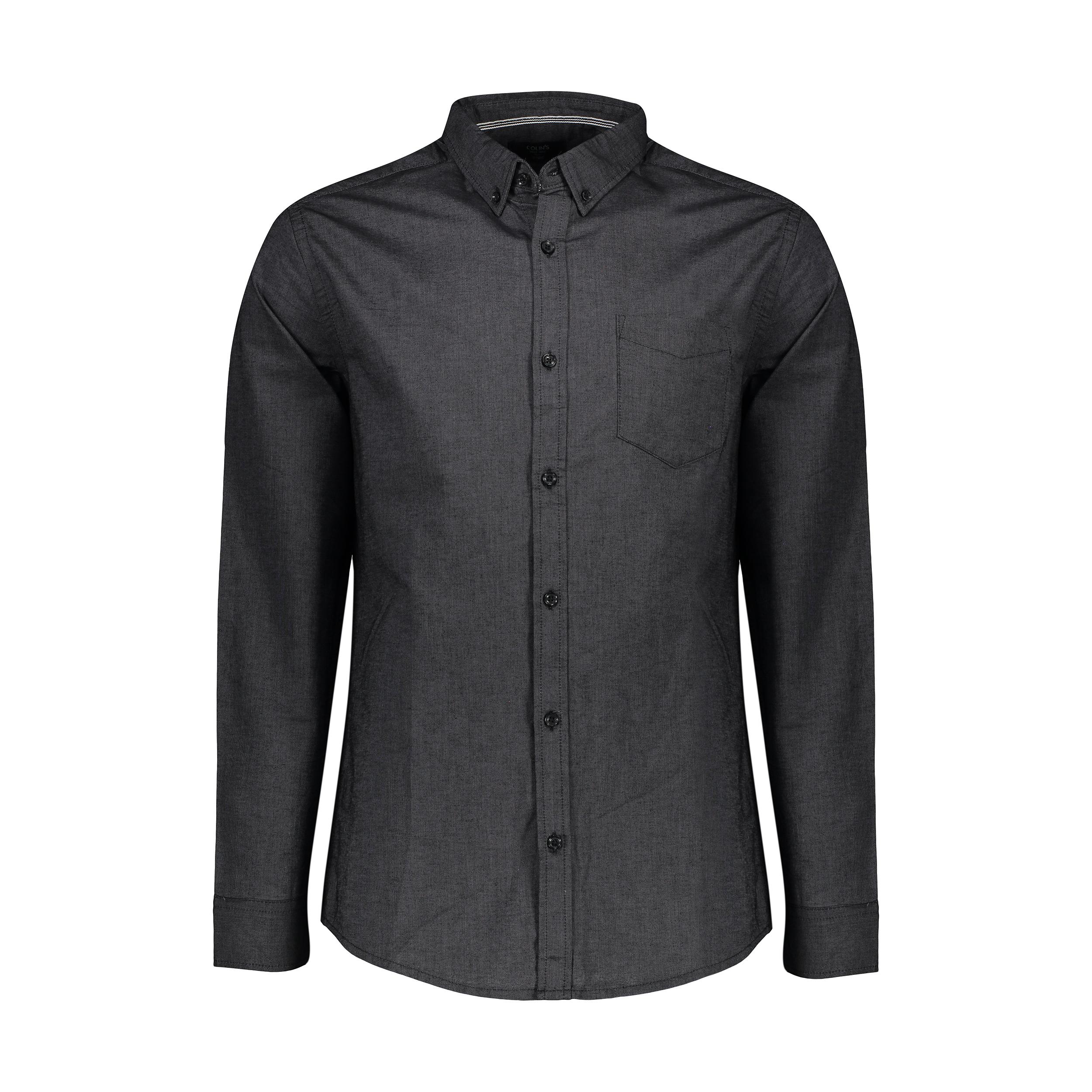 پیراهن آستین بلند مردانه کالینز مدل CL1035946-ANT