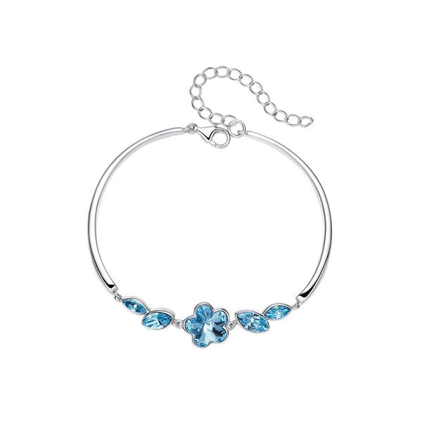 دستبند نقره زنانه کوبیک مدل QN-3105