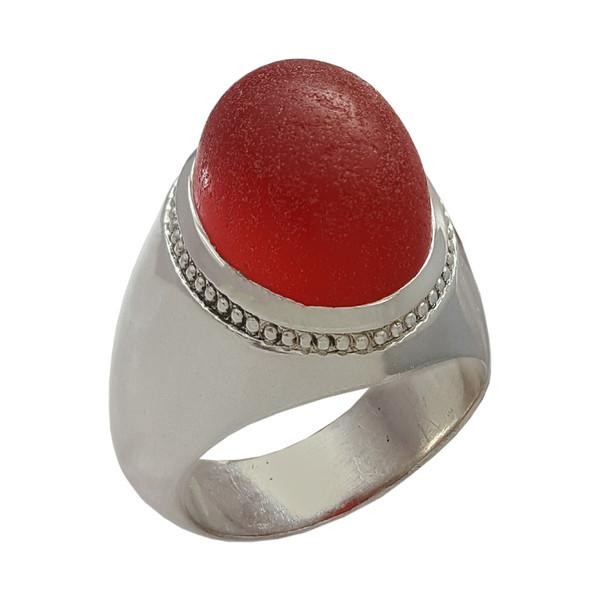 انگشتر نقره مردانه مدل a593jw