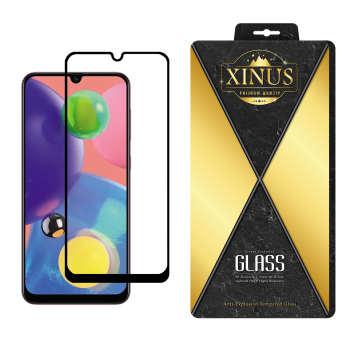 محافظ صفحه نمایش 5D ژینوس مدل FGX مناسب برای گوشی موبایل سامسونگ Galaxy A70s