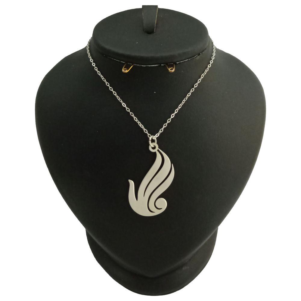 گردنبند نقره زنانه ترمه 1 طرح الله کد mas 0018