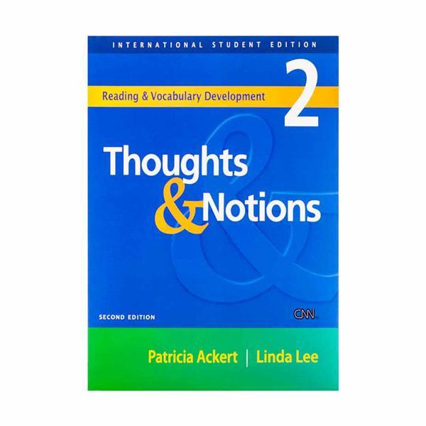کتاب Thoughts and Notions 2 اثر Linda Lee انتشارات اف تي پرس