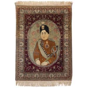 فرش قدیمی دستباف نیم متری سی پرشیا کد 102376