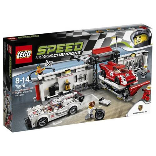 لگو سری Speed مدل Porsche 919 Hybrid And 917K Pit Lane 75876