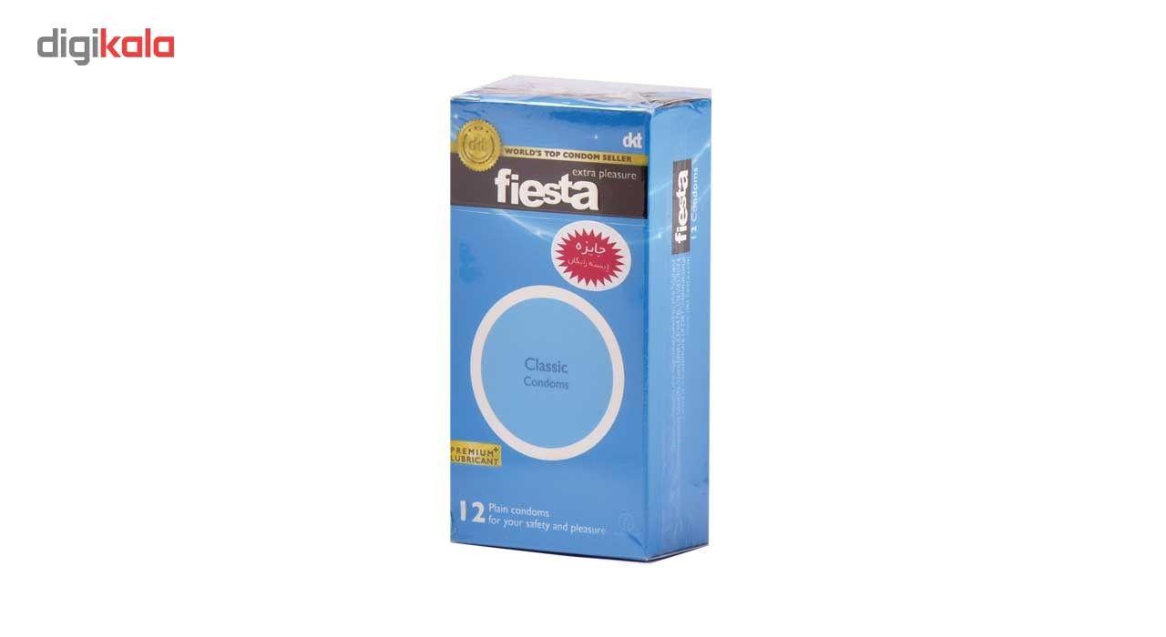کاندوم ساده فیستا مدل Classic بسته 12 عددی main 1 1