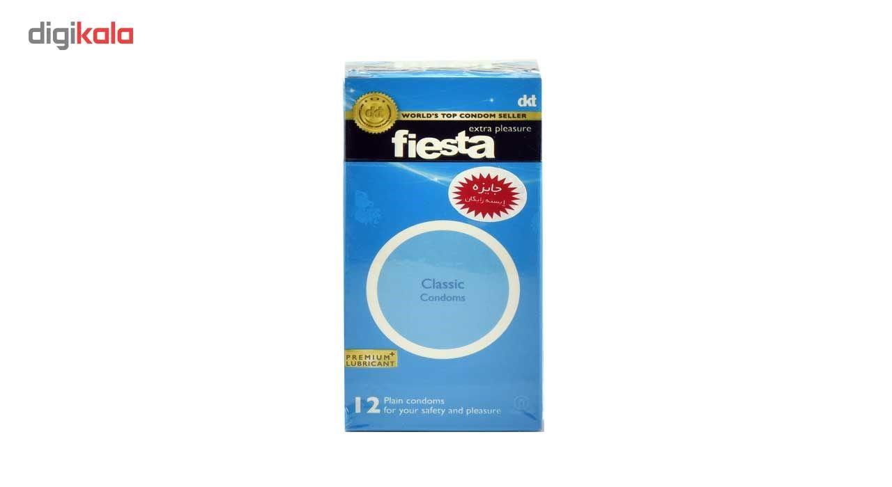 کاندوم ساده فیستا مدل Classic بسته 12 عددی main 1 2