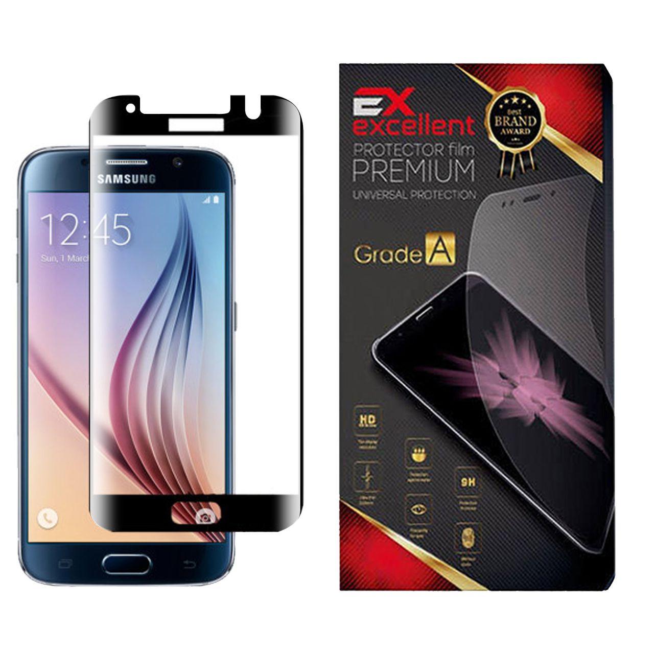 محافظ صفحه نمایش ایکس اکسلنت مدل 6X مناسب برای گوشی موبایل سامسونگ Galaxy S6 edge