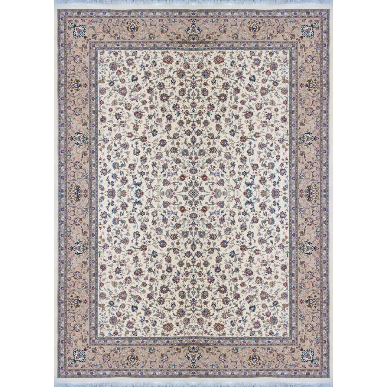 فرش ماشینی افرند کد 24840 زمینه موزی