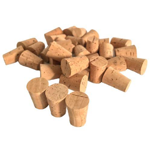 درب بطری چوب پنبه مدل 11-15 - بسته 30 عددی