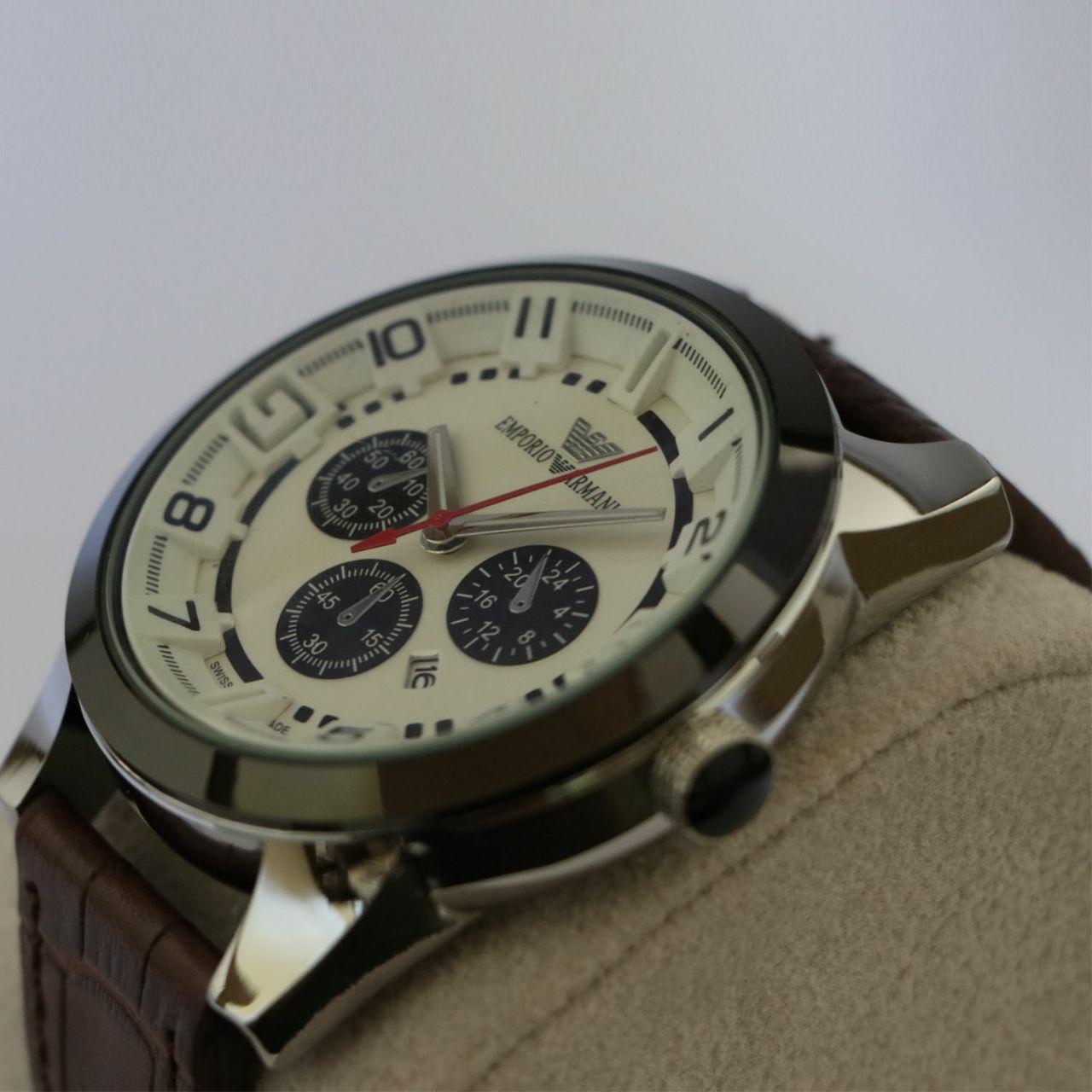 ساعت مچی عقربه ای مردانه مدل A.R.M-A324              ارزان