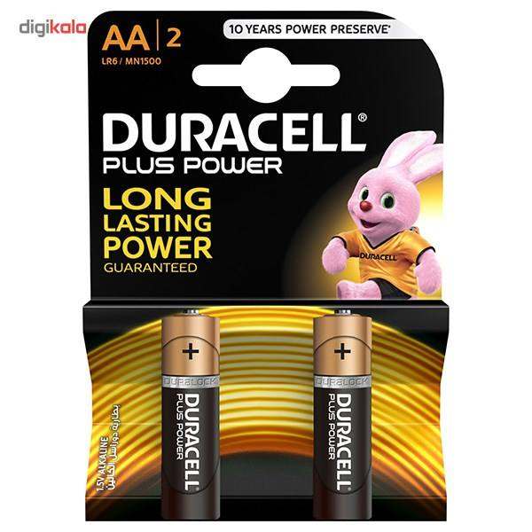 باتری قلمی دوراسل مدل Plus Power Duralock بسته 2 عددی main 1 1
