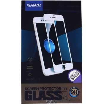 محافظ صفحه نمایش شیشه ای جی سی کام مدل 3D مناسب برای گوشی موبایل آیفون7 پلاس
