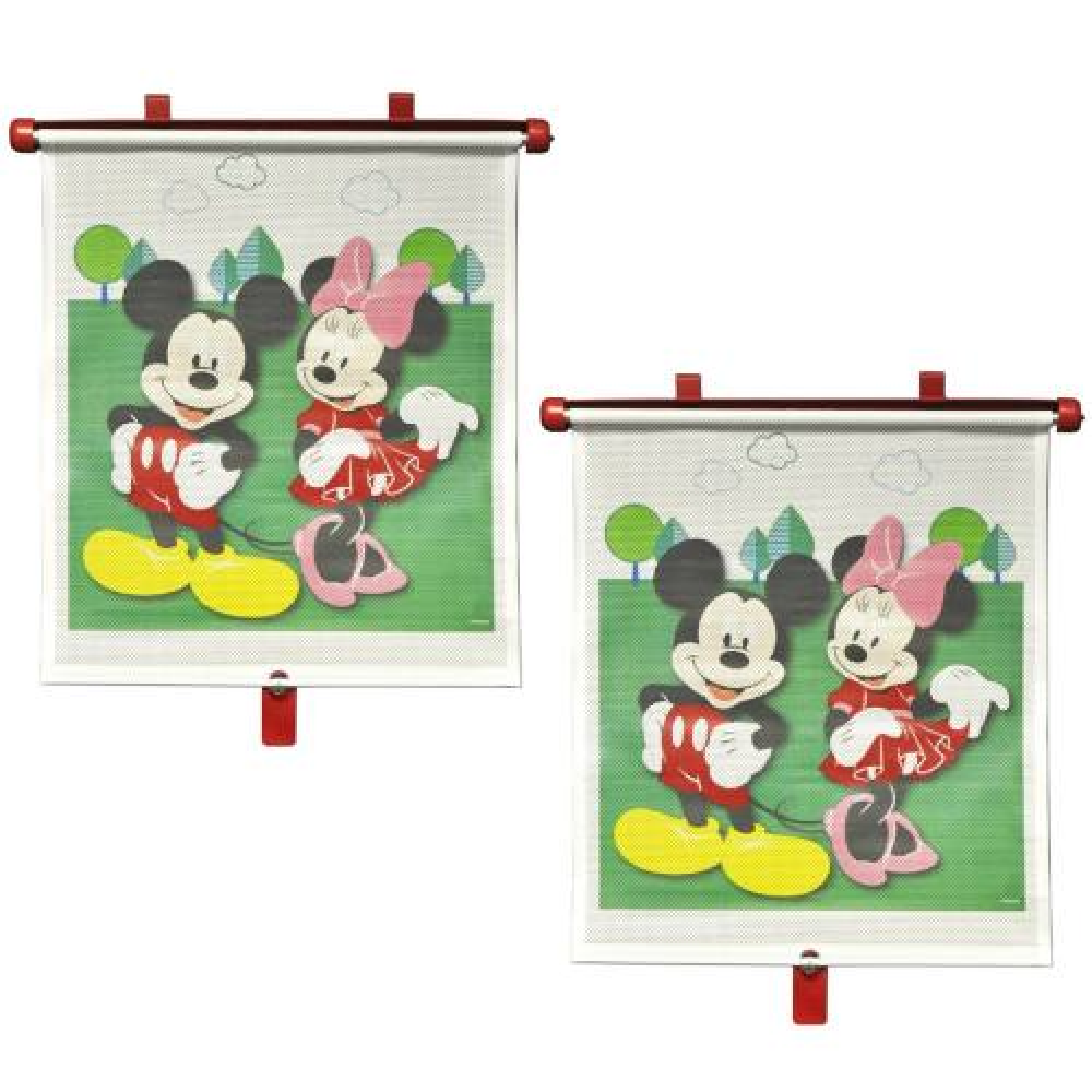 آفتابگیر خودرو فرست یرز مدل Mickey And Minnie