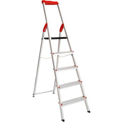 نردبان پنج پله فولاد بهمن مدل FB5s