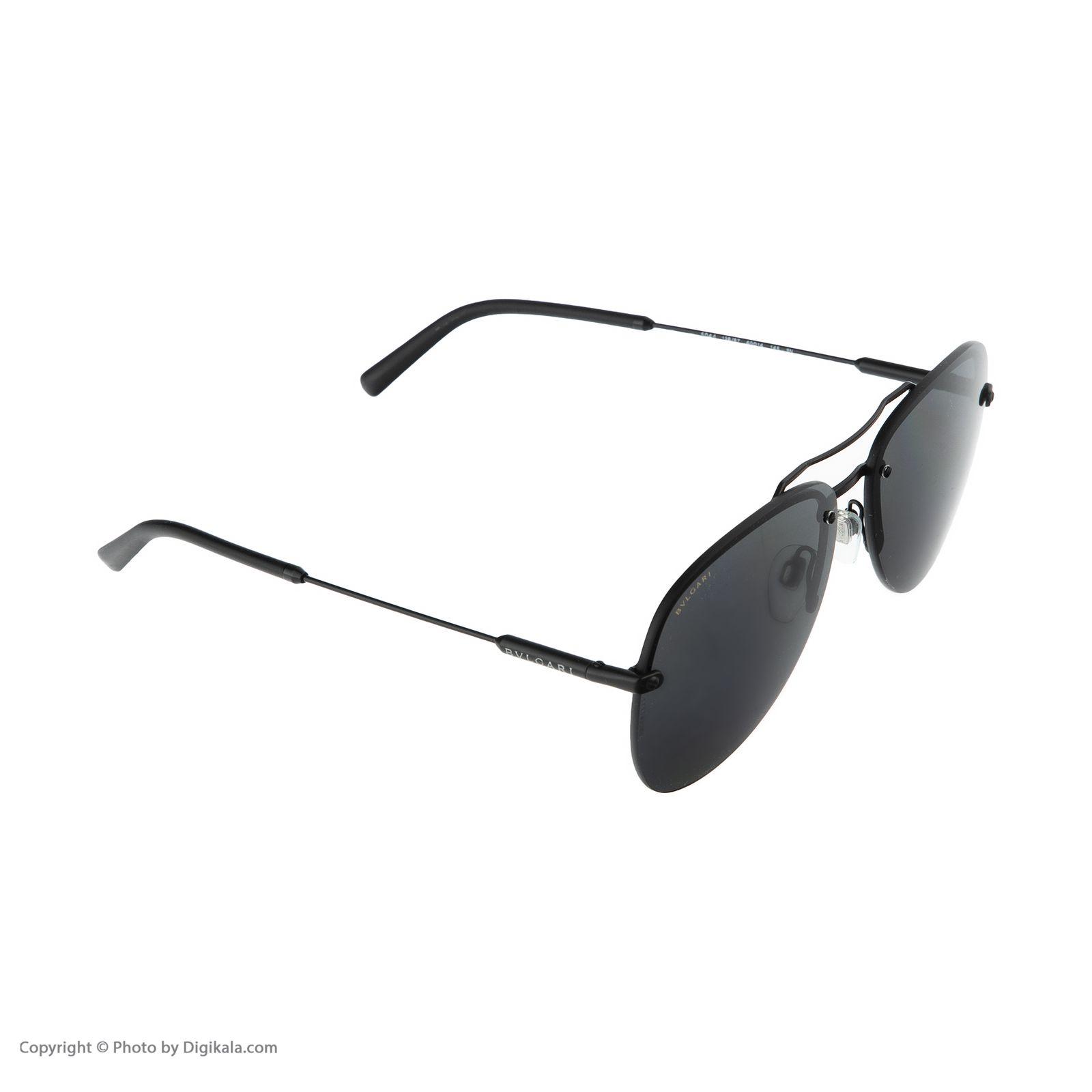 عینک آفتابی مردانه بولگاری مدل BV5044S 12887 -  - 4