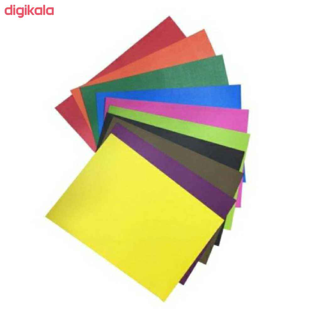 مقوا رنگی کد 2535 سایز 35×25 سانتی متر بسته 10 عددی main 1 1