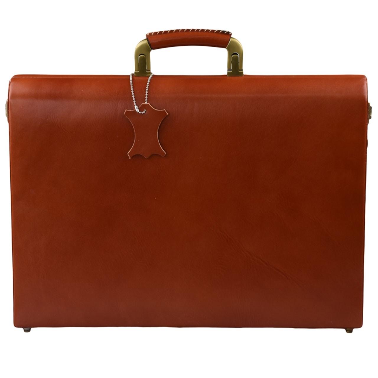 کیف اداری چرم طبیعی کهن چرم مدل L76-1