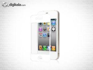 محافظ صفحه نمایش موشی آی ویزور مخصوص آیفون 4S سفید