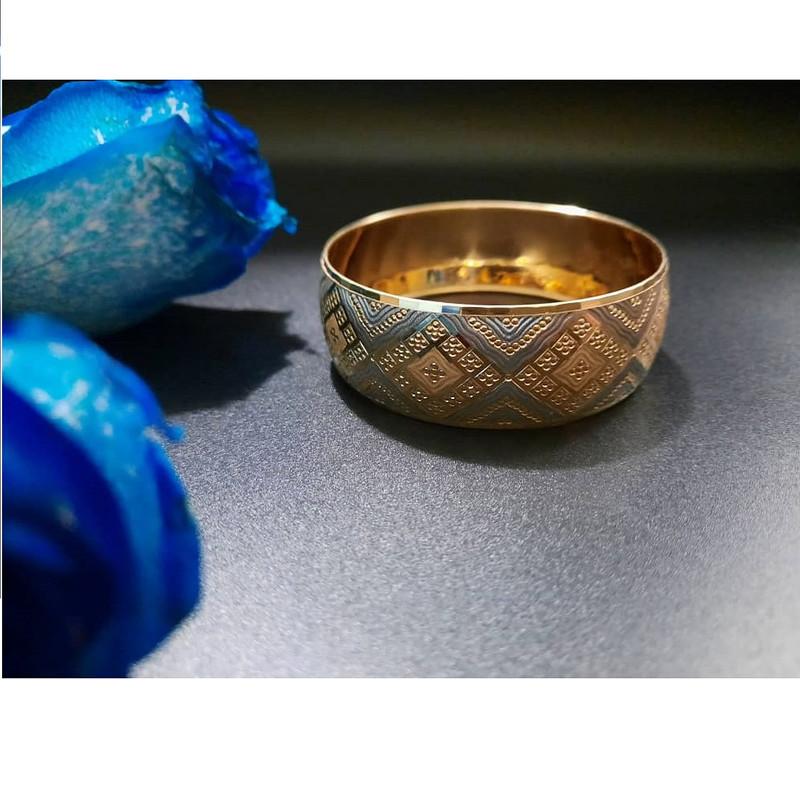 النگو طلا 18 عیار زنانه گالری یارطلا  کد AL29-G-2
