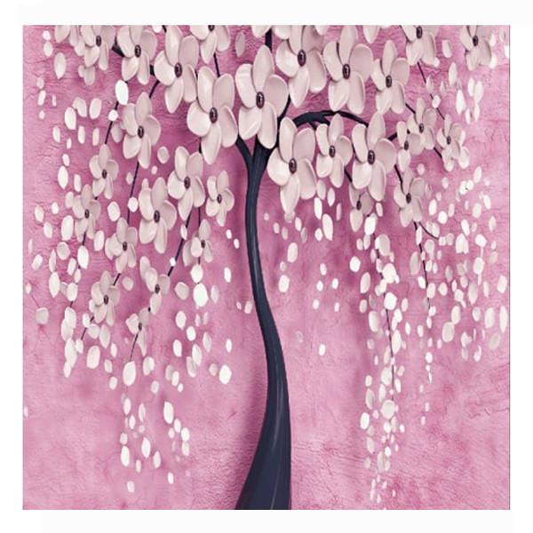 پوستر دیواری مدل درخت و شکوفه کد 009