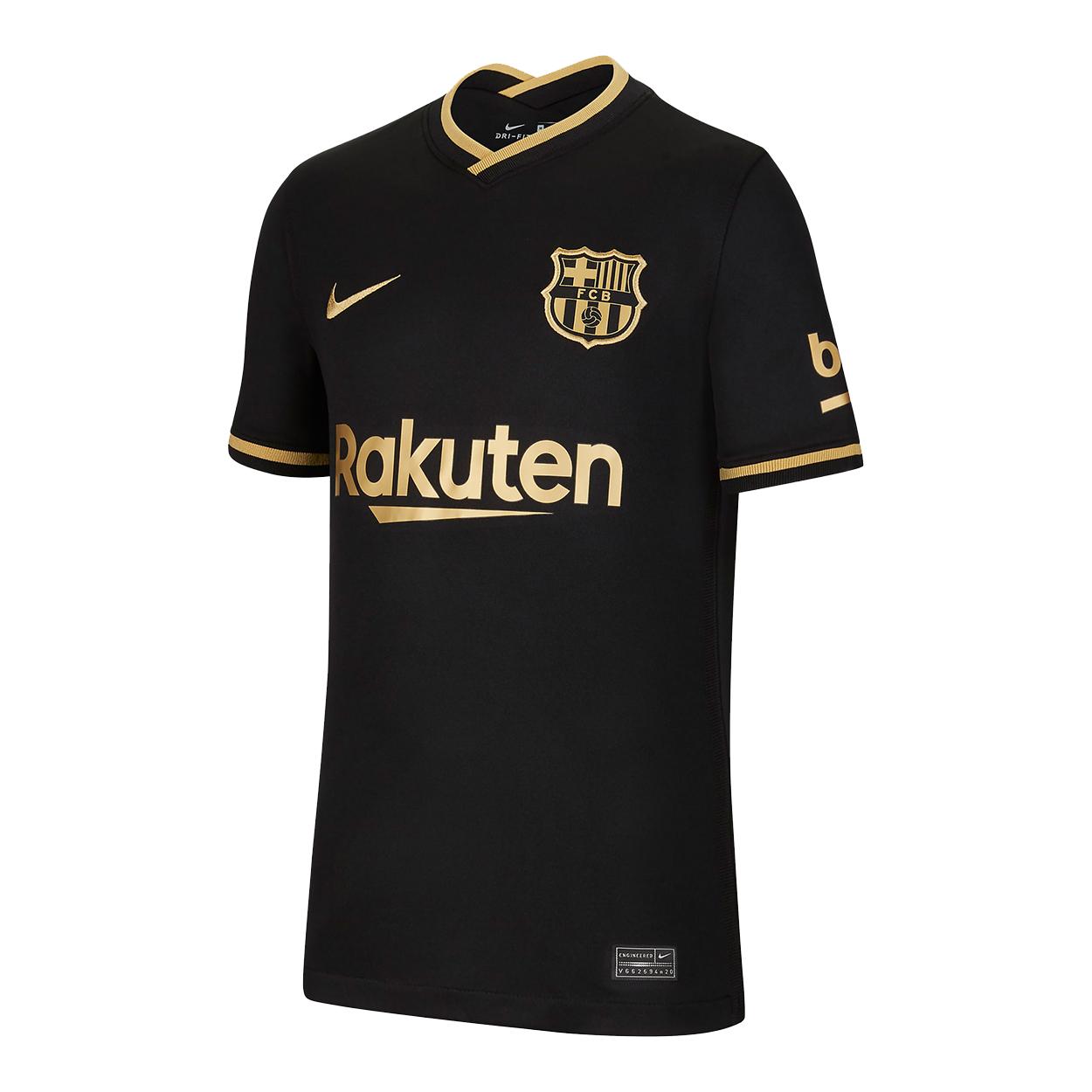 تیشرت ورزشی مردانه طرح بارسلونا کد away2021 غیر اصل