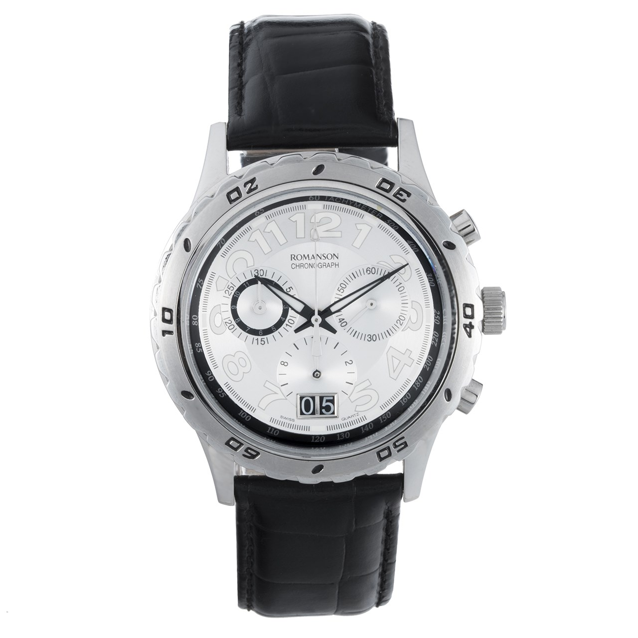 ساعت مچی عقربه ای مردانه رومانسون مدل TL6109HM1WAS7B