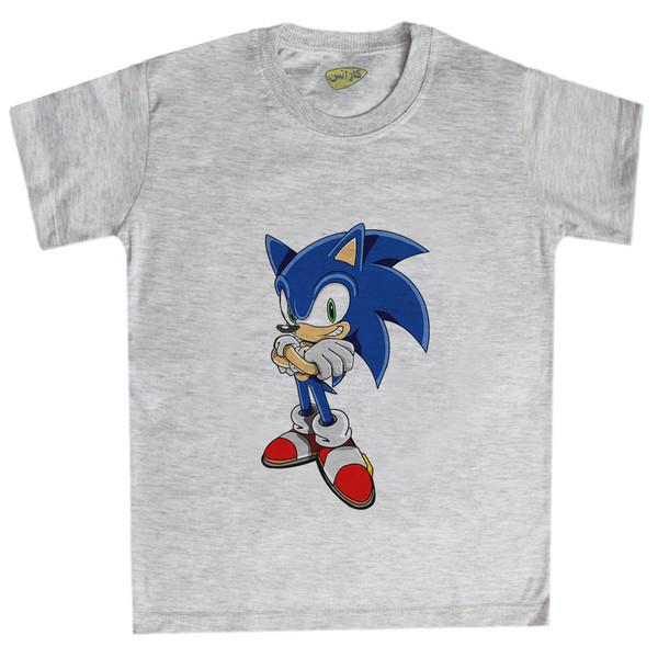 تی شرت پسرانه کارانس طرح سونیک مدل BTM-5134