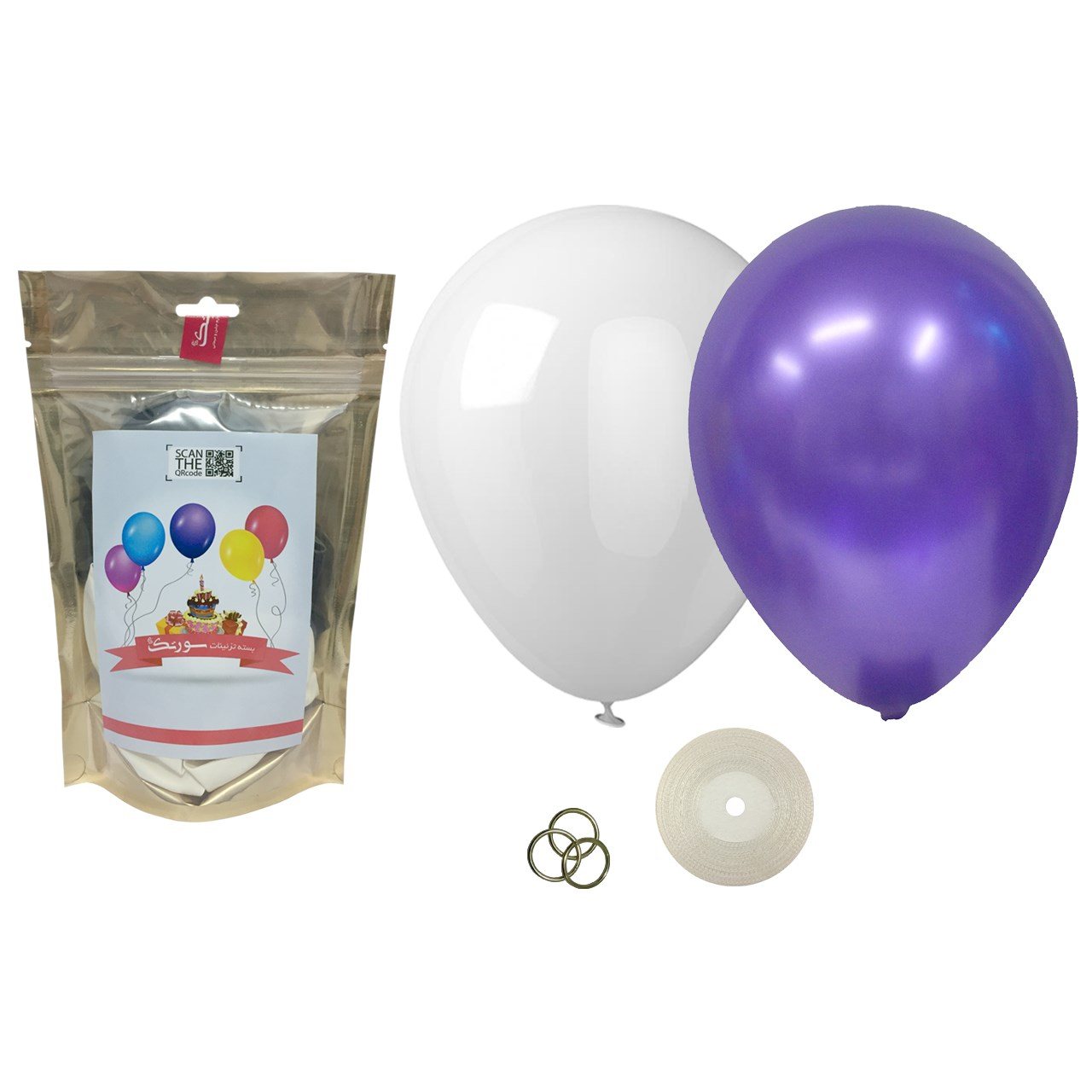 عکس پک بادکنک آرایی Helium Quality سورتک مدل STLH-11