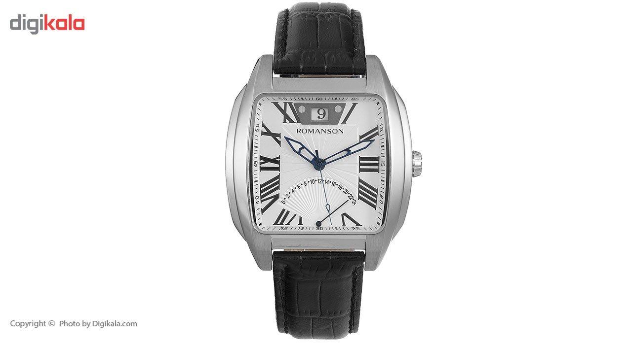 ساعت مچی عقربه ای مردانه رومانسون مدل TL1273MM1WAS5U -  - 2
