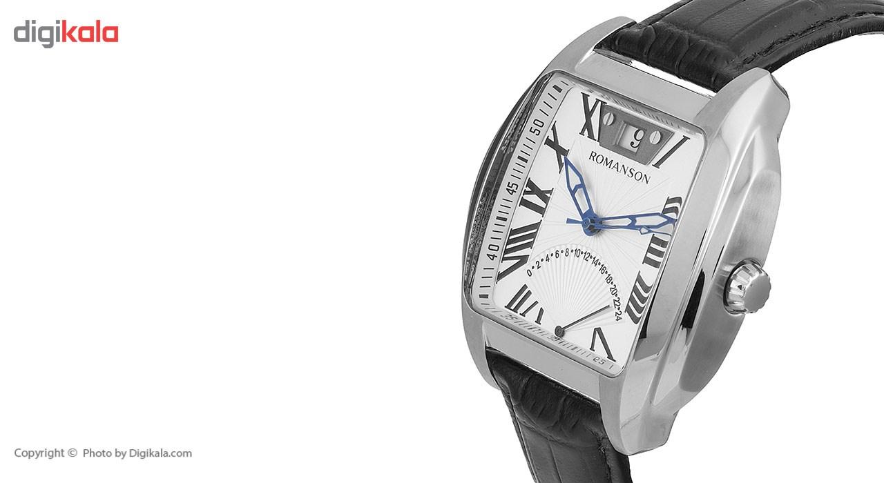 ساعت مچی عقربه ای مردانه رومانسون مدل TL1273MM1WAS5U -  - 4