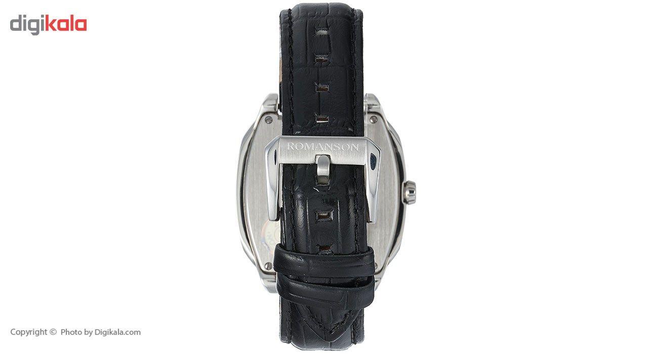 ساعت مچی عقربه ای مردانه رومانسون مدل TL1273MM1WAS5U -  - 3