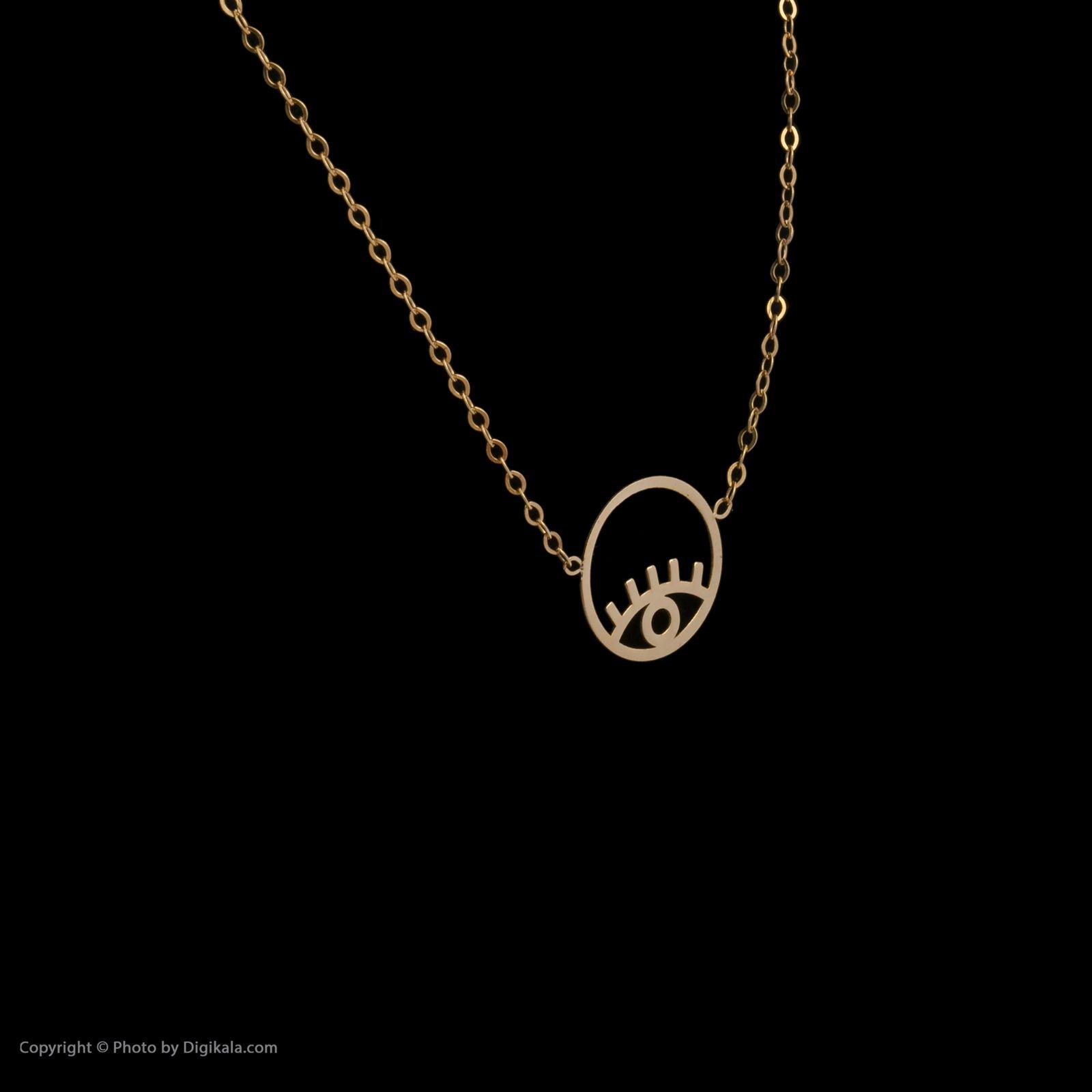 گردنبند طلا 18 عیار زنانه میو گلد مدل GD620 -  - 4