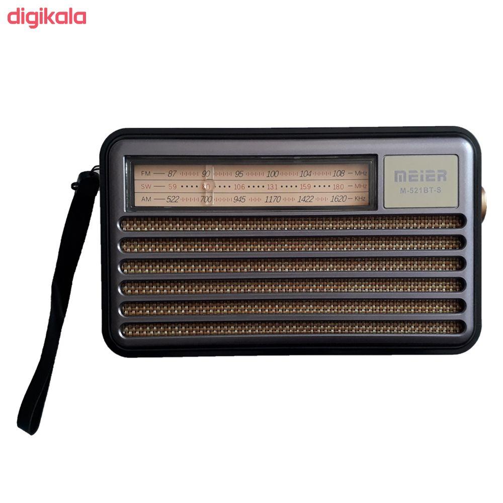 رادیو  می یر مدل M-521BT-S main 1 2