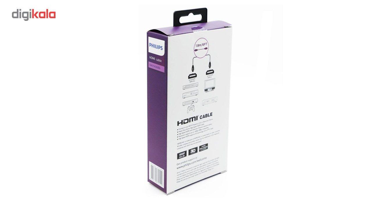 کابل HDMI فیلیپس مدل SWV1436BN به طول 1.8 متر main 1 3