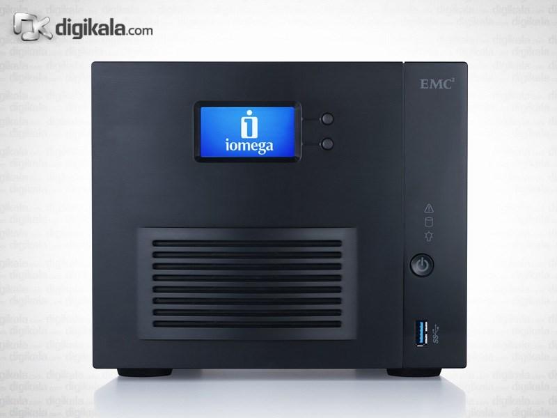 ذخیره ساز تحت شبکه لنوو مدل آی امگا ix4-300d ظرفیت 12 ترابایت