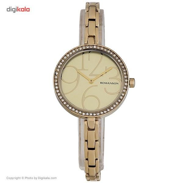 ساعت مچی عقربه ای زنانه رومانسون مدل RM7283TL1GA81G 9