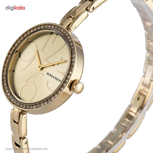 ساعت زنانه برند رومانسون مدل RM7283TL1GA81G