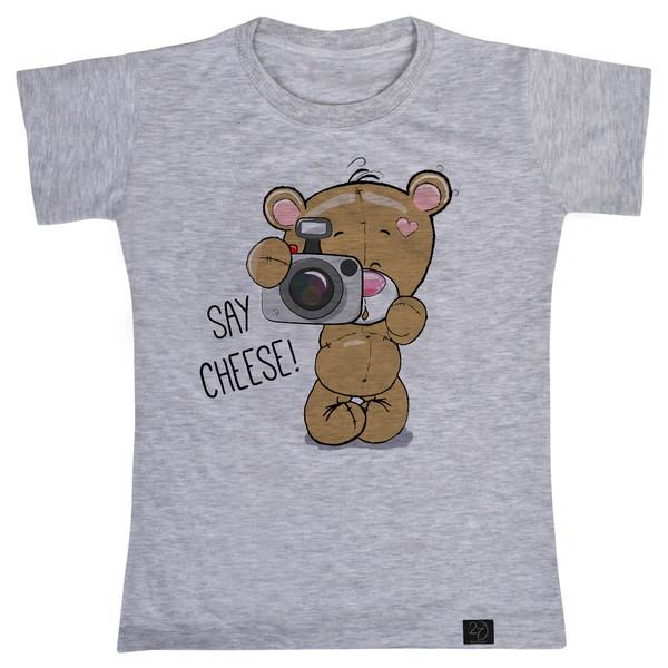 تی شرت پسرانه 27 طرح خرسی کد H01