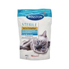 غذای خشک گربه وینستون مدل STERILE وزن 800 گرم