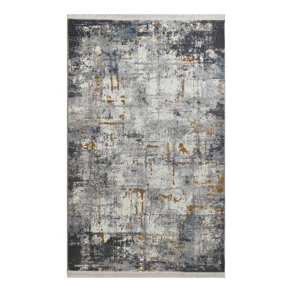 فرش ماشینی شرکت فرش آویسا کاشان طرح مدرن کد 414