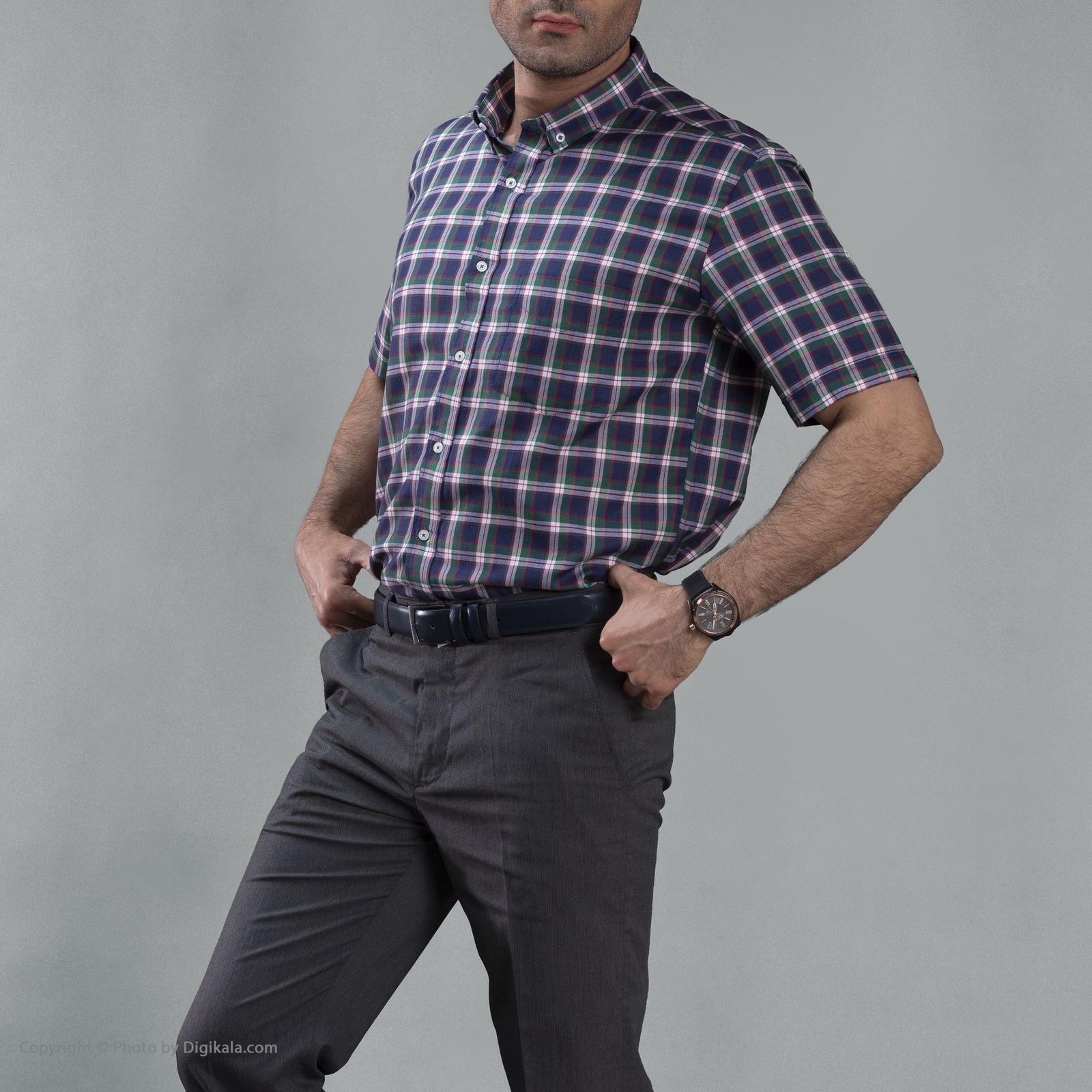 پیراهن مردانه زی مدل 1531228MC -  - 4
