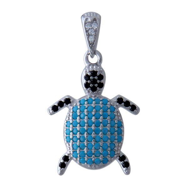 آویز گردنبند نقره زنانه بازرگانی میلادی کد PKR-118